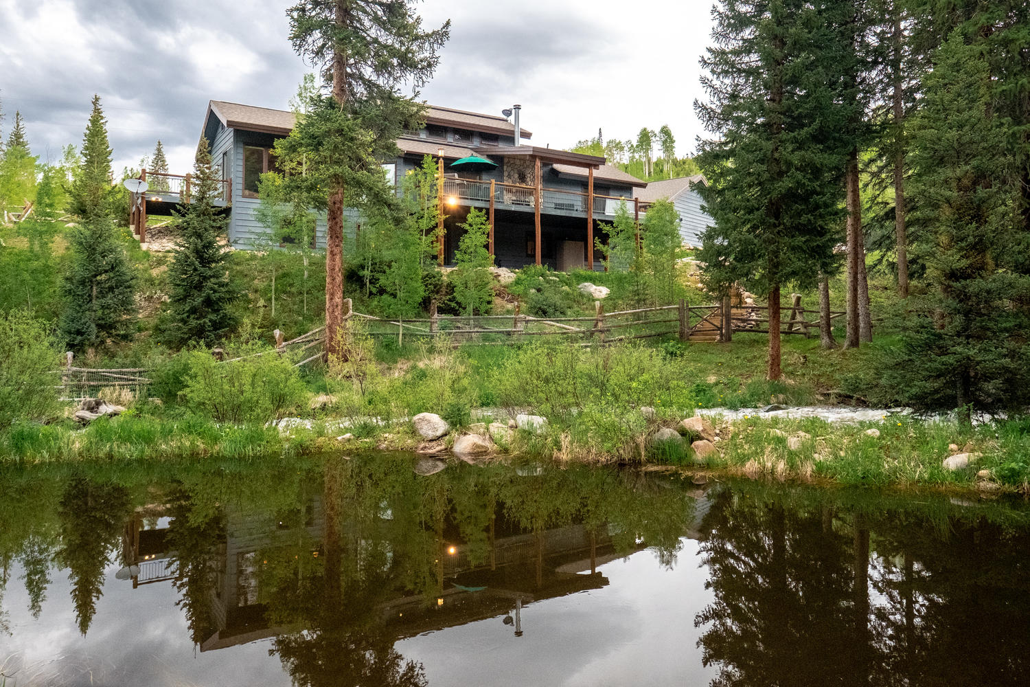 3444 County Road 8 Fraser, Colorado 80442 - Listed by Melinda V Lee of LIV Sothebys - Devil's Thumb Ranch trail system