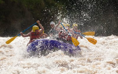 Rafting in Grand County