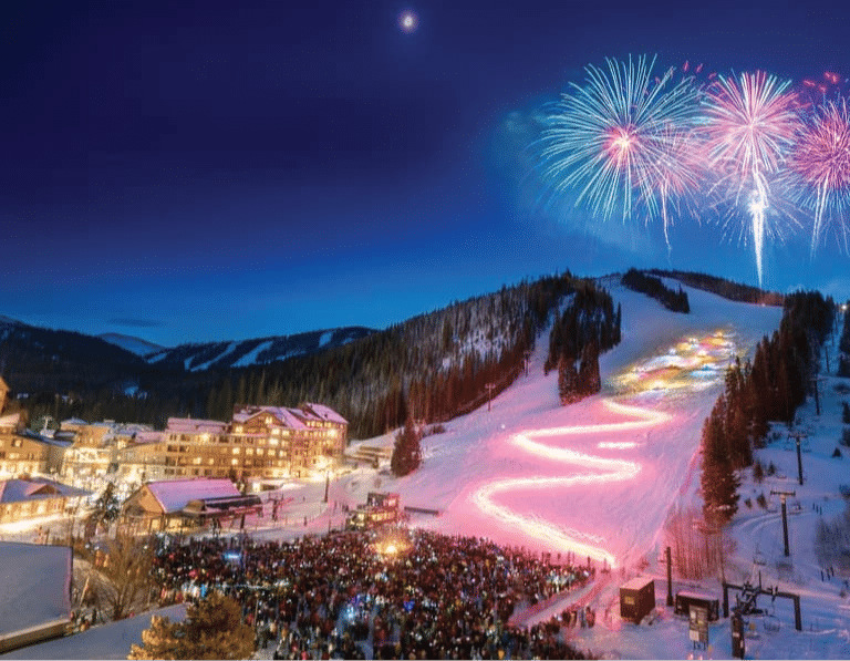 Winter Park Resort Torchlight Parade