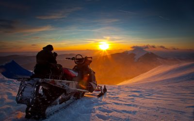 Snowmobiling in Grand County, CO
