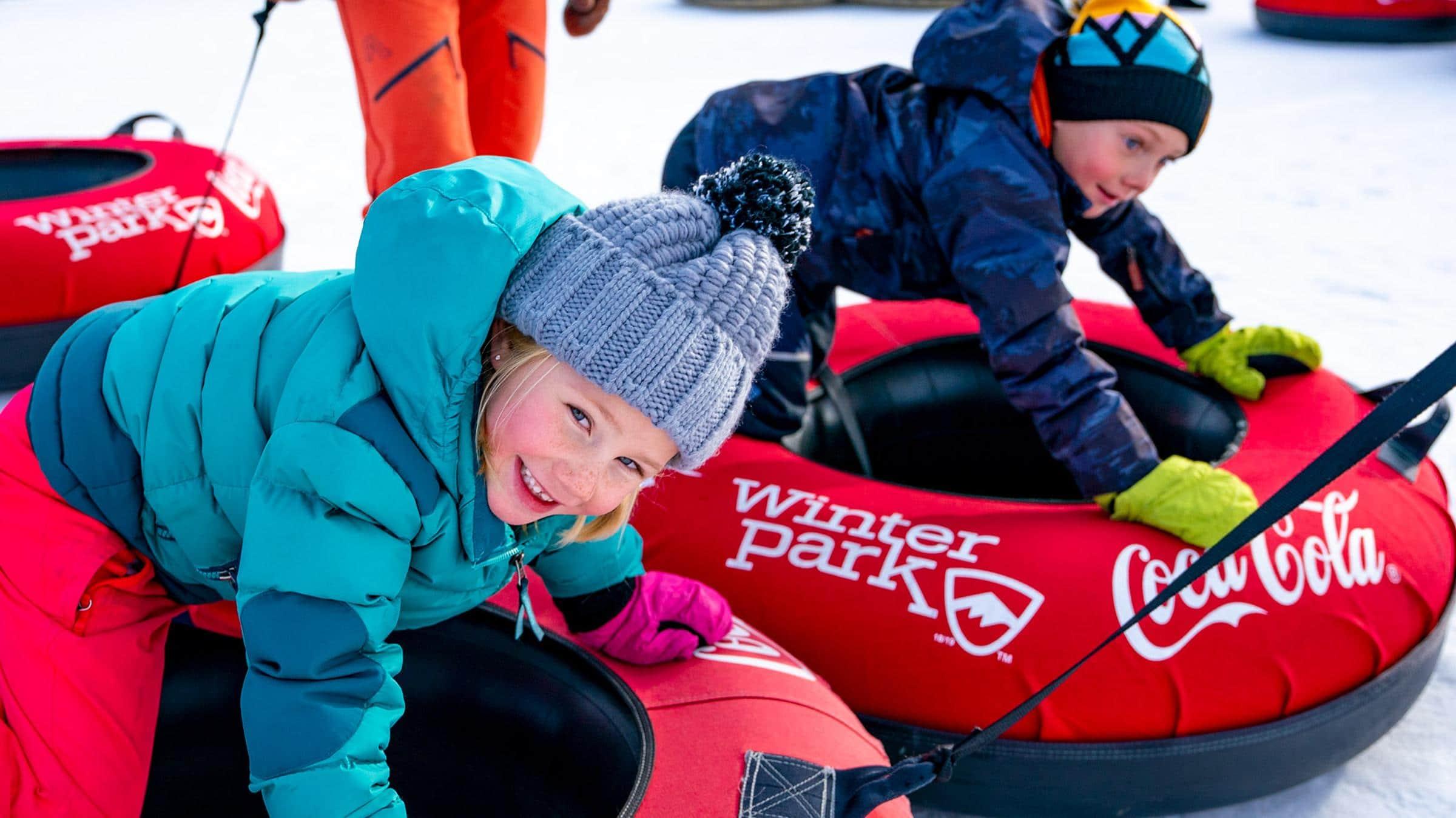 Sledding & Tubing Winter Park Grand County, CO - Melinda V Lee LIV Sotheby's Winter Park, CO phot credit Winteparkresort.com